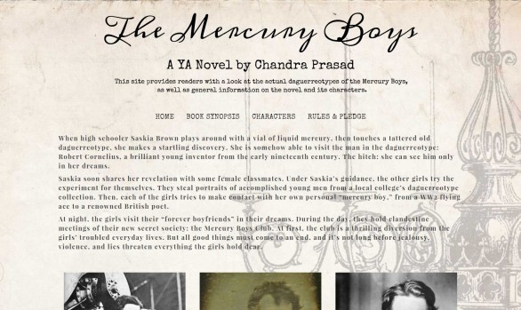 Mercury Boys - Author website